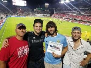 NUTZ attended DC United vs. Chicago Fire FC - MLS on Sep 15th 2021 via VetTix