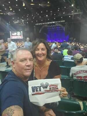 Jim attended Brooks & Dunn Reboot 2021 Tour on Sep 16th 2021 via VetTix