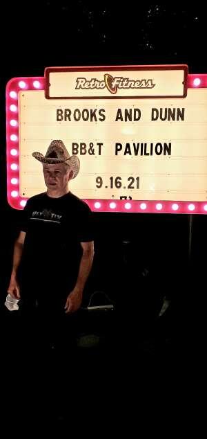 Al attended Brooks & Dunn Reboot 2021 Tour on Sep 16th 2021 via VetTix