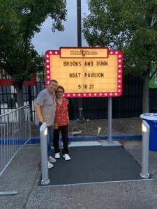 Alex attended Brooks & Dunn Reboot 2021 Tour on Sep 16th 2021 via VetTix