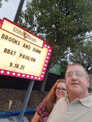 Dan Shannon attended Brooks & Dunn Reboot 2021 Tour on Sep 16th 2021 via VetTix