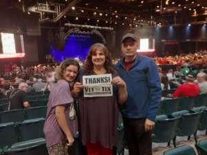 Chief Kay(Ret.) attended Brooks & Dunn Reboot 2021 Tour on Sep 16th 2021 via VetTix