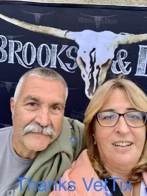 Pat attended Brooks & Dunn Reboot 2021 Tour on Sep 16th 2021 via VetTix
