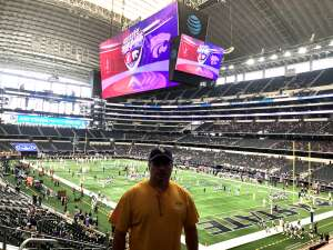 Matthew Lowery attended Allstate Kickoff Classic - Stanford Cardinals vs. Kansas State Wildcats - NCAA Football on Sep 4th 2021 via VetTix