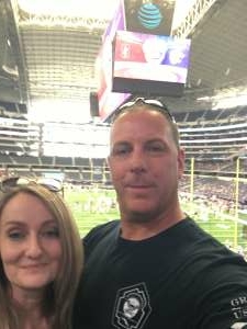 James Waugh attended Allstate Kickoff Classic - Stanford Cardinals vs. Kansas State Wildcats - NCAA Football on Sep 4th 2021 via VetTix