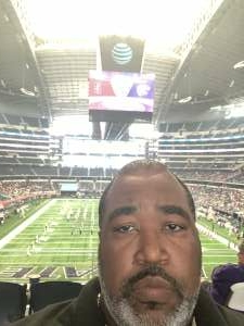 RP attended Allstate Kickoff Classic - Stanford Cardinals vs. Kansas State Wildcats - NCAA Football on Sep 4th 2021 via VetTix