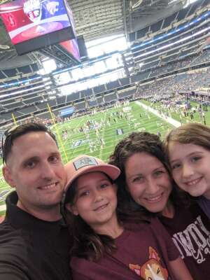 Adam attended Allstate Kickoff Classic - Stanford Cardinals vs. Kansas State Wildcats - NCAA Football on Sep 4th 2021 via VetTix