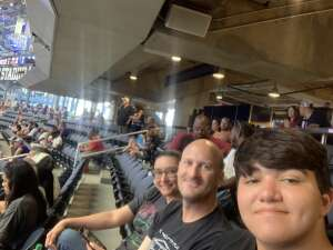 Damian  attended Allstate Kickoff Classic - Stanford Cardinals vs. Kansas State Wildcats - NCAA Football on Sep 4th 2021 via VetTix