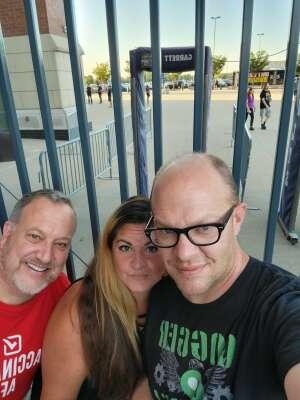 A.E. attended Guns N' Roses 2021 Tour on Sep 8th 2021 via VetTix
