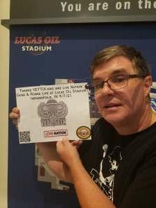 John W. attended Guns N' Roses 2021 Tour on Sep 8th 2021 via VetTix