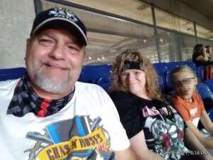 Steve Tierney attended Guns N' Roses 2021 Tour on Sep 8th 2021 via VetTix