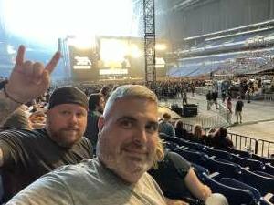 Andrew attended Guns N' Roses 2021 Tour on Sep 8th 2021 via VetTix