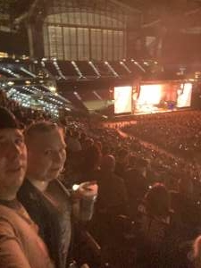 Tony attended Guns N' Roses 2021 Tour on Sep 8th 2021 via VetTix