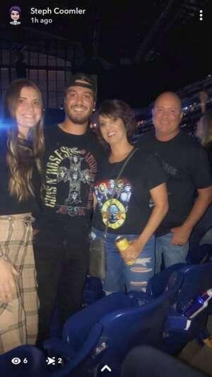 Jeff C attended Guns N' Roses 2021 Tour on Sep 8th 2021 via VetTix