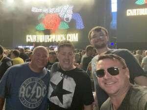 Hubert Willis attended Guns N' Roses 2021 Tour on Sep 8th 2021 via VetTix