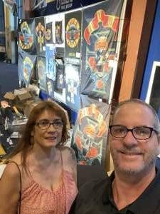 Steve Kozak attended Guns N' Roses 2021 Tour on Sep 8th 2021 via VetTix