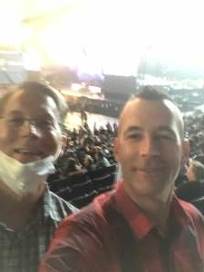 Jason Key attended Guns N' Roses 2021 Tour on Sep 8th 2021 via VetTix