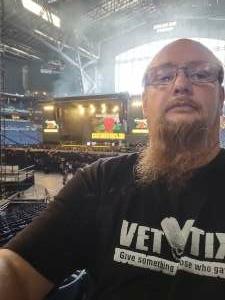 MSgt David Webb attended Guns N' Roses 2021 Tour on Sep 8th 2021 via VetTix