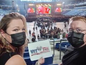 Earl Thomas attended Guns N' Roses 2021 Tour on Sep 8th 2021 via VetTix