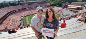 Karen attended University of Georgia Bulldogs vs. University of Alabama at Birmingham Blazers - NCAA Football on Sep 11th 2021 via VetTix