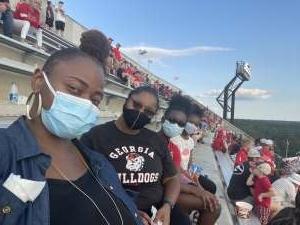 PR attended University of Georgia Bulldogs vs. University of Alabama at Birmingham Blazers - NCAA Football on Sep 11th 2021 via VetTix