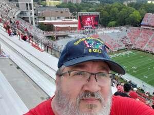 Robb attended University of Georgia Bulldogs vs. University of Alabama at Birmingham Blazers - NCAA Football on Sep 11th 2021 via VetTix