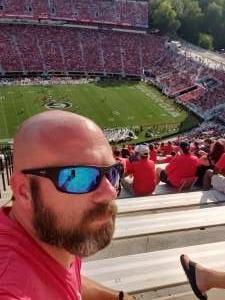 Shawn attended University of Georgia Bulldogs vs. University of Alabama at Birmingham Blazers - NCAA Football on Sep 11th 2021 via VetTix