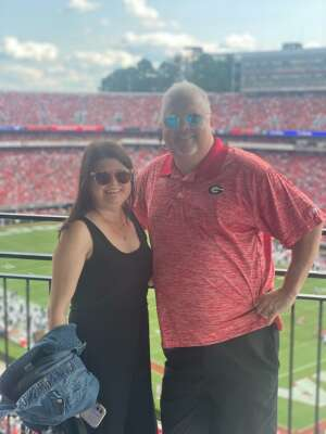Jeff Lance attended University of Georgia Bulldogs vs. University of Alabama at Birmingham Blazers - NCAA Football on Sep 11th 2021 via VetTix