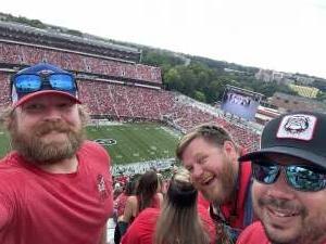 Wade attended University of Georgia Bulldogs vs. University of Alabama at Birmingham Blazers - NCAA Football on Sep 11th 2021 via VetTix