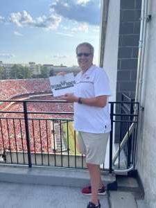 Mark T attended University of Georgia Bulldogs vs. University of Alabama at Birmingham Blazers - NCAA Football on Sep 11th 2021 via VetTix
