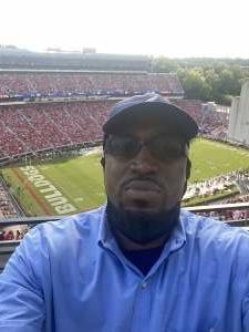 Michael Ferguson  attended University of Georgia Bulldogs vs. University of Alabama at Birmingham Blazers - NCAA Football on Sep 11th 2021 via VetTix
