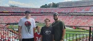 Fred attended University of Georgia Bulldogs vs. University of Alabama at Birmingham Blazers - NCAA Football on Sep 11th 2021 via VetTix