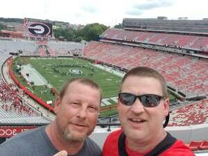Don attended University of Georgia Bulldogs vs. University of Alabama at Birmingham Blazers - NCAA Football on Sep 11th 2021 via VetTix
