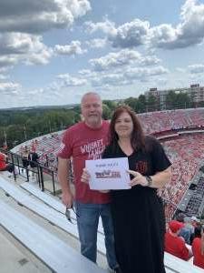 Mitchell / Kelly attended University of Georgia Bulldogs vs. University of Alabama at Birmingham Blazers - NCAA Football on Sep 11th 2021 via VetTix
