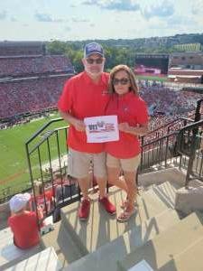 Rich  attended University of Georgia Bulldogs vs. University of Alabama at Birmingham Blazers - NCAA Football on Sep 11th 2021 via VetTix