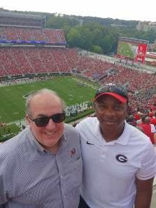 Greg attended University of Georgia Bulldogs vs. University of Alabama at Birmingham Blazers - NCAA Football on Sep 11th 2021 via VetTix