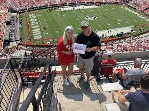 A very Blessed  Dad. attended University of Georgia Bulldogs vs. University of Alabama at Birmingham Blazers - NCAA Football on Sep 11th 2021 via VetTix