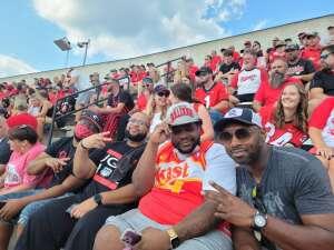 Michael Parker attended University of Georgia Bulldogs vs. University of Alabama at Birmingham Blazers - NCAA Football on Sep 11th 2021 via VetTix