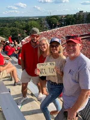 Click To Read More Feedback from University of Georgia Bulldogs vs. University of Alabama at Birmingham Blazers - NCAA Football