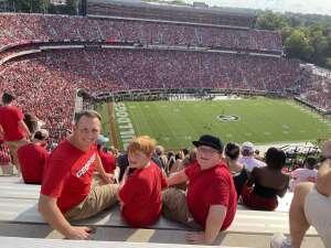 Bill Hugel attended University of Georgia Bulldogs vs. University of Alabama at Birmingham Blazers - NCAA Football on Sep 11th 2021 via VetTix