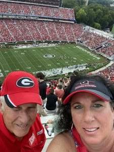 Jerry attended University of Georgia Bulldogs vs. University of Alabama at Birmingham Blazers - NCAA Football on Sep 11th 2021 via VetTix