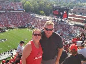 Scott attended University of Georgia Bulldogs vs. University of Alabama at Birmingham Blazers - NCAA Football on Sep 11th 2021 via VetTix