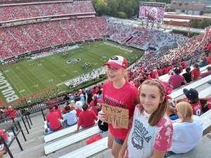Rob attended University of Georgia Bulldogs vs. University of Alabama at Birmingham Blazers - NCAA Football on Sep 11th 2021 via VetTix