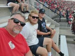 Alec S. attended University of Georgia Bulldogs vs. University of Alabama at Birmingham Blazers - NCAA Football on Sep 11th 2021 via VetTix