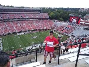 Terry attended University of Georgia Bulldogs vs. University of Alabama at Birmingham Blazers - NCAA Football on Sep 11th 2021 via VetTix