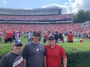 Bryan attended University of Georgia Bulldogs vs. University of Alabama at Birmingham Blazers - NCAA Football on Sep 11th 2021 via VetTix