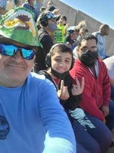 Lopez Family attended Monster Jam on Oct 10th 2021 via VetTix
