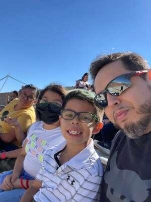 Jose Aldana attended Monster Jam on Oct 10th 2021 via VetTix