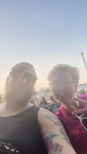 Phillip attended Jason Aldean: Back in the Saddle Tour 2021 on Sep 10th 2021 via VetTix