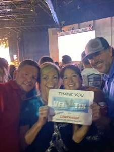 Ronda & Steve attended Jason Aldean: Back in the Saddle Tour 2021 on Sep 10th 2021 via VetTix